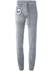 Philipp Plein 'Not Selfish' Track Pant Grey