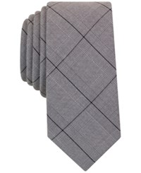Bar Iii Men's Galvin Plaid Tie Only At Macy's Grey