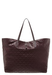 By Malene Birger Grinolas Tote Bag Bordeaux
