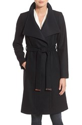 Ted Baker Women's London Two Tone Wool Blend Wrap Coat