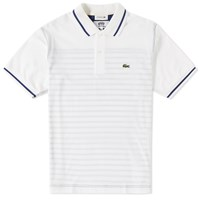 Junya Watanabe Man Eye X Lacoste Customised Polo White