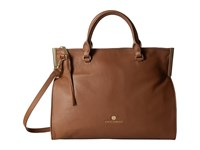 Vince Camuto Tina Satchel Russet Satchel Handbags Brown