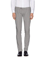 Paolo Pecora Trousers Casual Trousers Men Dove Grey