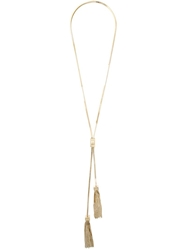 Dsquared2 Tassel Pendant Necklace