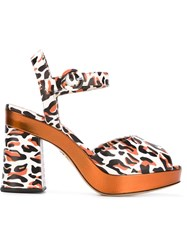 Charlotte Olympia 'Wild At Heart' Sandals White
