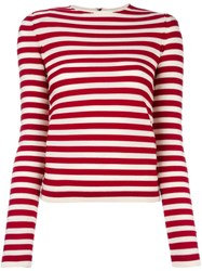 Sonia Rykiel Striped Jumper White