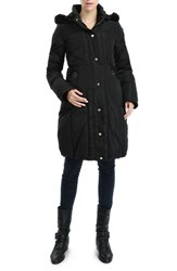 Kimi And Kai Women's 'Minnie' Water Resistant Down Feather Fill Maternity Coat