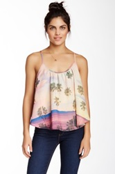 Lovers Friends Stars Billowy Printed Tank