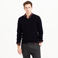 J.Crew Tall Lambswool V Neck Sweater
