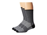 Wrightsock Adventure Crew 3 Pack Black Crew Cut Socks Shoes