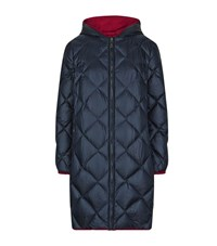 Max Mara Maxmara Weekend Quilted Reversible Puffer Coat Female Multi