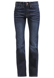 Edc By Esprit Bootcut Jeans Dark Blue