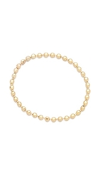 Gabriela Artigas Soft Ball Chain Ring Yellow Gold