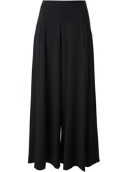 Moschino Cheap And Chic Wide Cropped Culottes Black