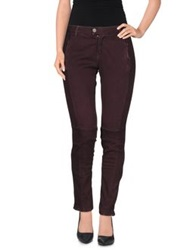 Two Women In The World Casual Pants Deep Purple