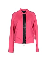 Blue Les Copains Coats And Jackets Jackets Women Fuchsia