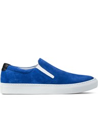 Garment Project Suede Slip On Sneakers