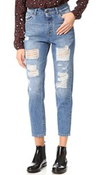 Dl1961 Goldie High Rise Boyfriend Jeans Shredded