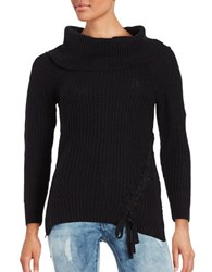 Jessica Simpson Gwenore Knit Sweater Black