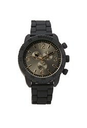 Forever 21 Matte Analog Watch Black Gold