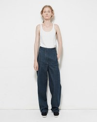 Christophe Lemaire High Waisted Denim Trouser