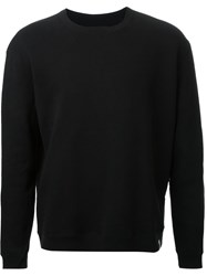 Hl Heddie Lovu 'Heavy' Crew Neck Sweatshirt Black