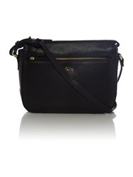 Tula Rye Black Medium Crossbody Bag Black