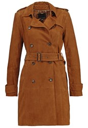Banana Republic Trenchcoat Totem Brown Cognac