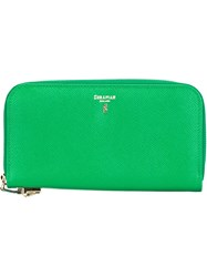 Serapian All Around Zip Wallet Green