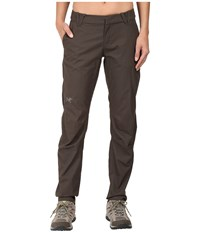 Arc'teryx A2b Chino Pants Cast Iron Women's Casual Pants Bone