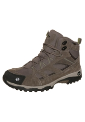 Jack Wolfskin Vojo Hike Mid Texapore Walking Boots Parrot Green Light Brown