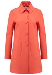 Patrizia Pepe Classic Coat Cayenne Red Orange