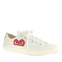 J.Crew Comme Des Garcons Low Top Sneakers White