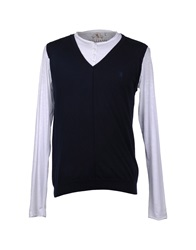 Williams Wilson Crewneck Sweaters Dark Blue