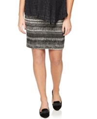 A Pea In The Pod Maternity Textured Pencil Skirt