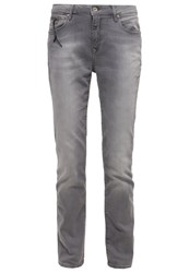 Mavi Jeans Mavi Uptown Kendra Slim Fit Jeans Light Grey Grey Denim
