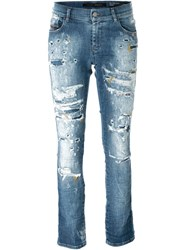 Diesel 'Sandy' Straight Jeans Blue