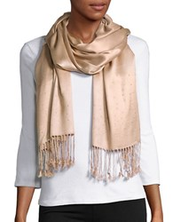 Collection 18 Embellished Pashmina Scarf Sand