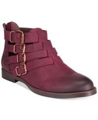Bella Vita Ronan Booties Women's Shoes Burgundy