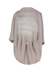 Paolo Errico Wrap Cardigans Beige