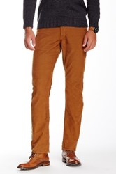 Bonobos French Corders Straight Pant 30 32' Inseam Brown