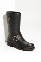 Jimmy Choo Motorcycle Boot Black