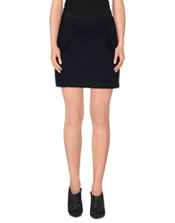 Gianfranco Ferre Gf Ferre' Mini Skirts Dark Blue
