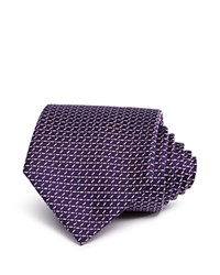 Bloomingdale's The Men's Store At Thin Link Classic Tie Purple