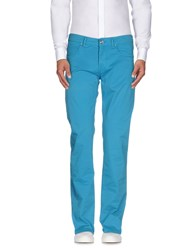 Re Hash Trousers Casual Trousers Men Turquoise