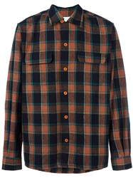 Levi's Vintage Clothing 'Deluxe Check' Shirt Brown