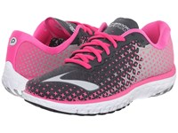 Brooks Pureflow 5 Anthracite Pink Glow Alloy Women's Running Shoes