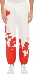 3.1 Phillip Lim Floral Embroidered Pants White