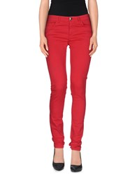 Scee By Twin Set Trousers Casual Trousers Women Coral