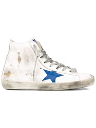 Golden Goose Deluxe Brand 'Francy' Hi Top Sneakers White